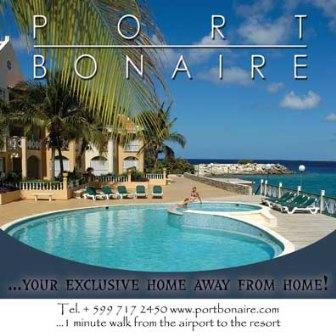 Port Bonaire billboard airport