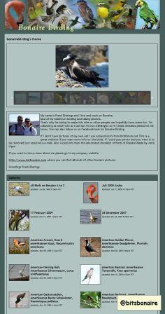 Bonaire Birding