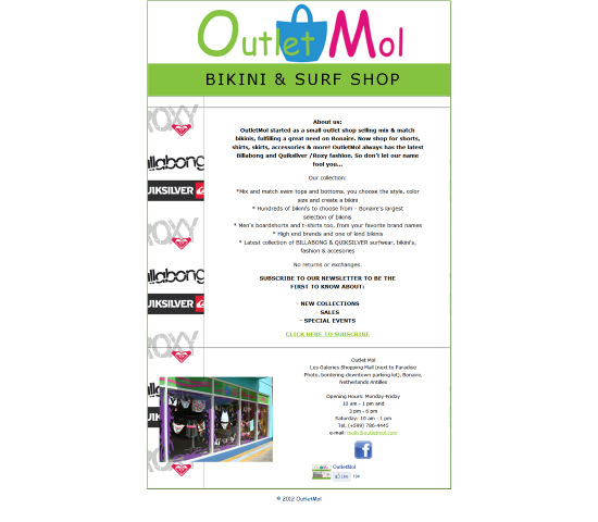 Outlet Mol